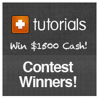 Tuts+ Marketplace Tutorial Competition Winners: $1500 Cash and Additional Prizes Scored